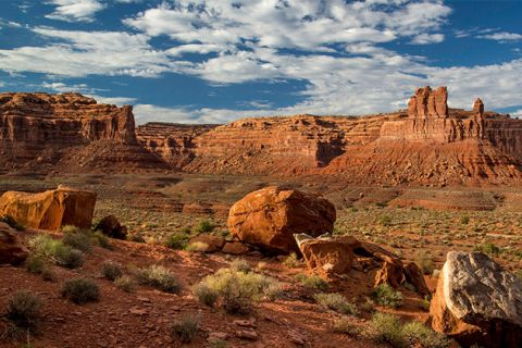 The 1.35 million-acre Bears Ears National Monument in southeastern Utah protects one of most significant cultural landscapes in the United States, with thousands of archaeological sites and important areas of spiritual significance.