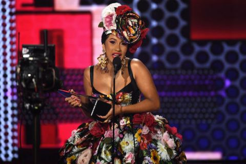 Cardi B at 2018 American Music Awards