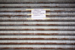 "A business is closed as immigrants take part in a ""Day Without Immigrants"" on February 16, 2017, in Philadelphia, Pennsylvania. The sign reads, ""Closed on Thursday, February 16 to support our community!"""