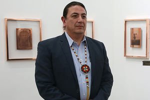 The Depart Foundation hosts Standing Rock Sioux Tribal Chairman Dave Archambault II for the first public conversation in Los Angeles about the Dakota Access Pipeline on December 15, 2016, in Los Angeles, California.