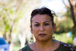 Karyna Jaramillo, a transgender activist from Cuernavaca, México, who fights for immigrant and LGBTQ communities in Maricopa County, Arizona.