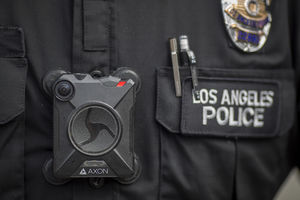 Police body camera technology
