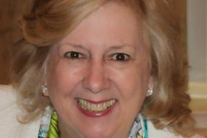 Linda Fairstein. Middle aged White woman with blond hair.
