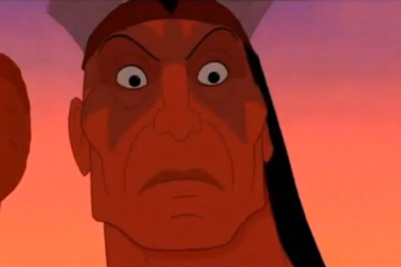 Russell Means Voiced The Most Powerful Scene Of Disney's