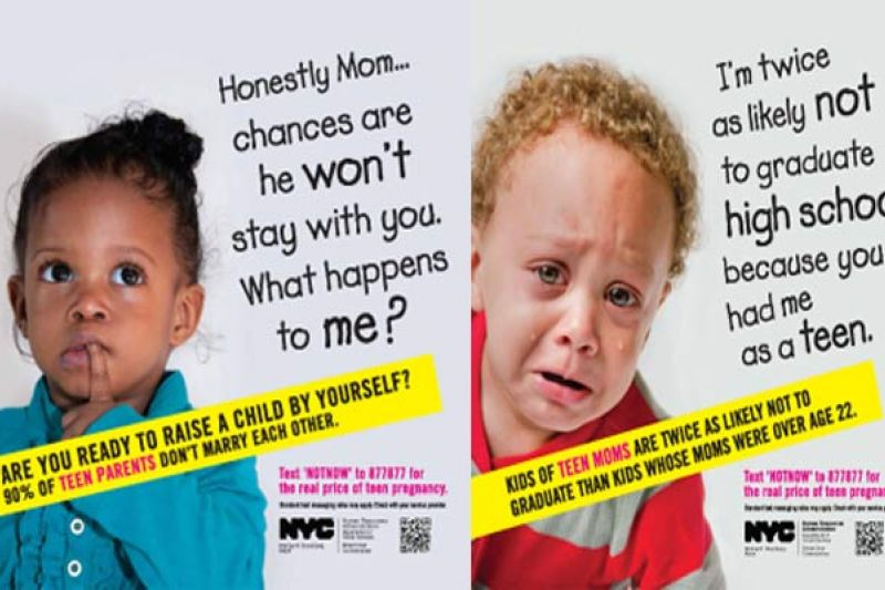 5 Really Bad Teen Pregnancy Prevention Ads Colorlines