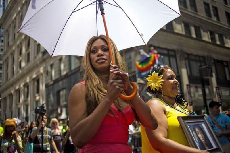 Laverne Cox Pays Tribute to Slain Black Trans Woman at NYC Pride