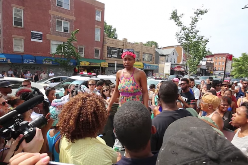 Crown Heights Residents Protest New Restaurant For Using