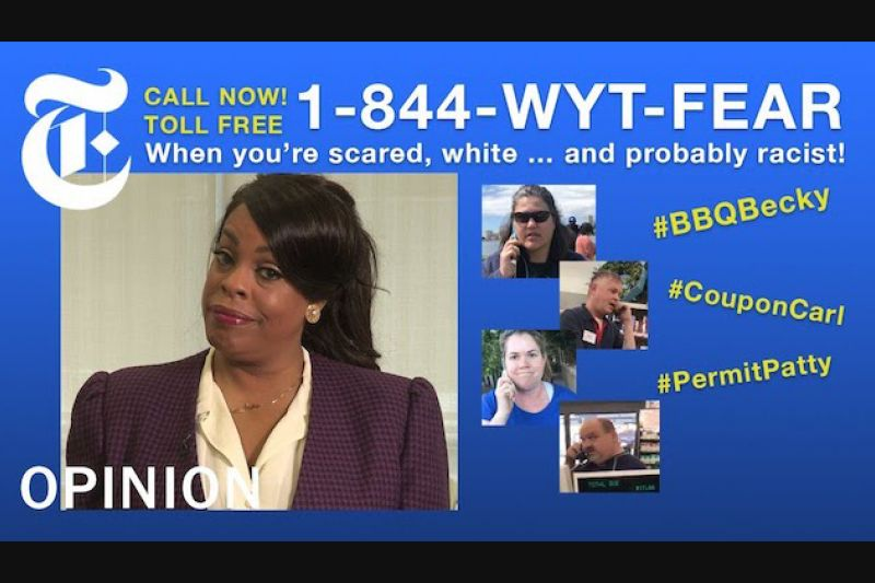The Hotline for Folks Afraid of Black People Living Their Lives