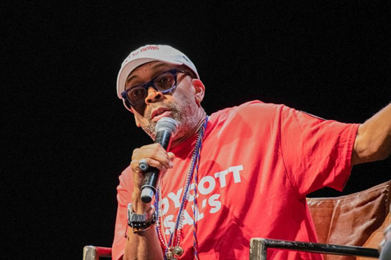 Spike Lee Is Tired of Asking If Trump Likes People of Color  